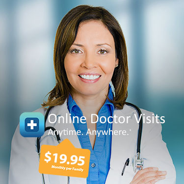 Telemedicine. Online Doctor Visits Anytime Anywhere.